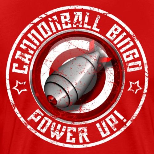 Vintage Daubs Away Power-Up Tee - Men's Premium T-Shirt