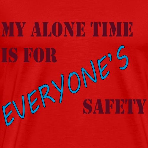 ALONE - Men's Premium T-Shirt