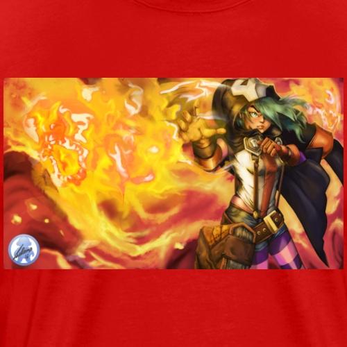Fire Witch Etna - Men's Premium T-Shirt