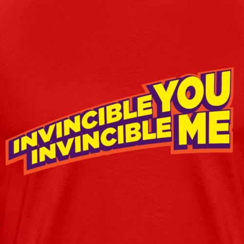Invincible You, Invincible Me - Men's Premium T-Shirt