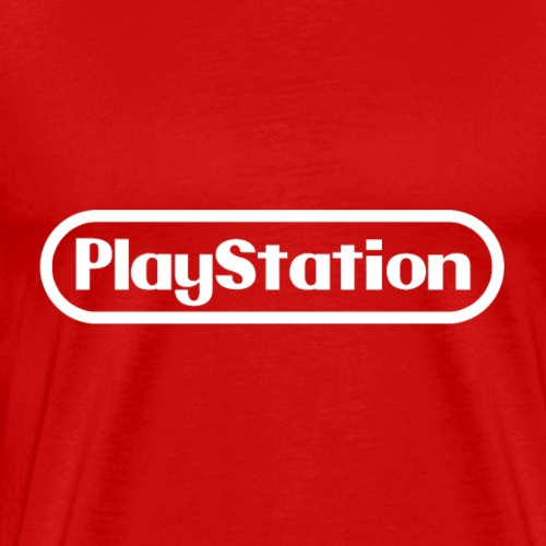 nintendo playstation white - Men's Premium T-Shirt