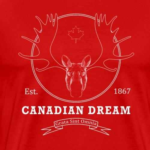 Vintage Canadian Dream - Men's Premium T-Shirt