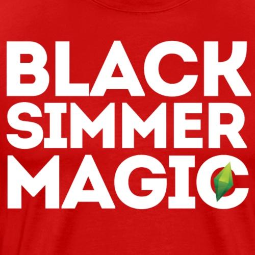 Black Simmer Magic #1 - Men's Premium T-Shirt