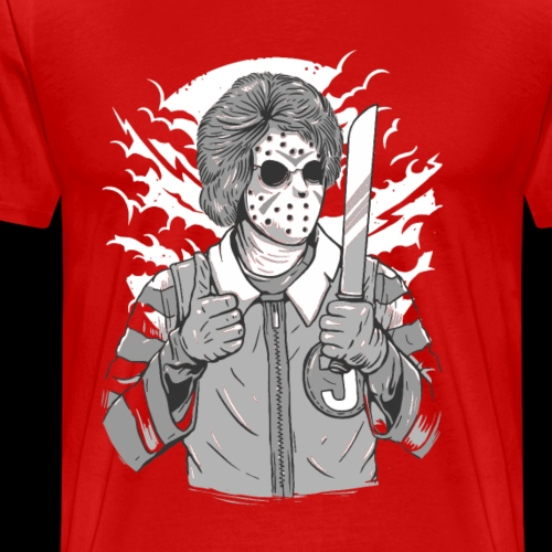 Crazy Clown Killer - Men's Premium T-Shirt