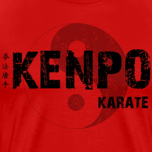 kenpo Yin Yang Black - Men's Premium T-Shirt