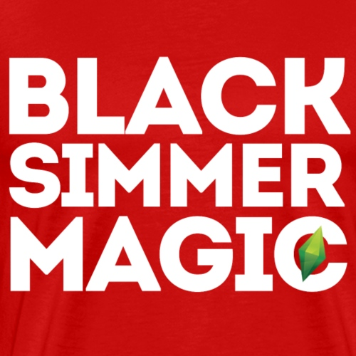 Black Simmer Magic #1 - Men's Premium T-Shirt