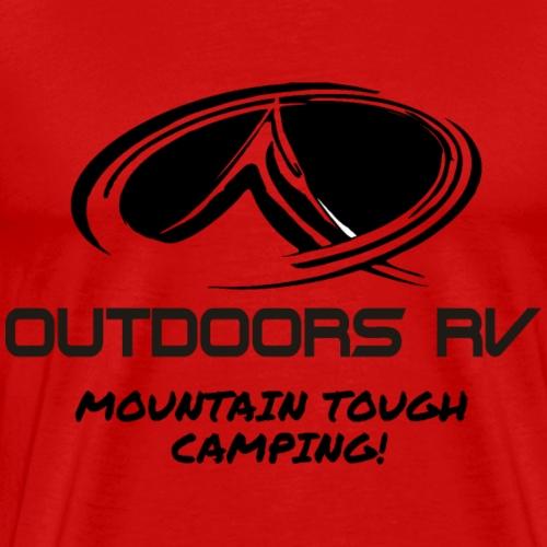 Front Logo Only - Men's Premium T-Shirt
