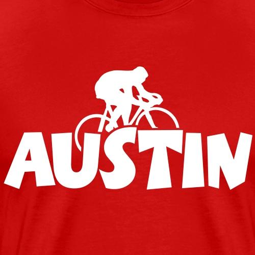 Austin Bicycle Bike Cycling - Men's Premium T-Shirt