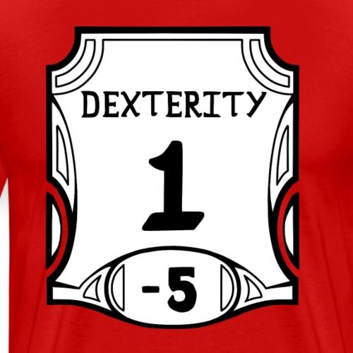 Alternate none of the Dexterity - Men's Premium T-Shirt