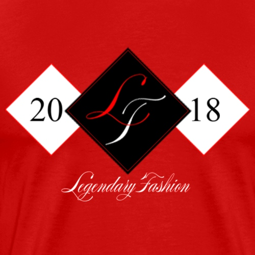 Legendary Fashion 1st Edition Red Black - Men's Premium T-Shirt