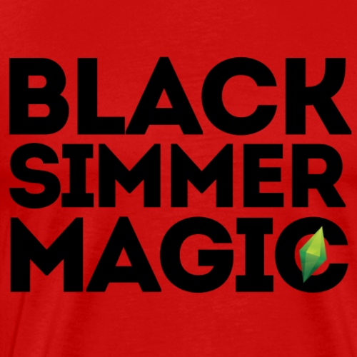 Black Simmer Magic #2 - Men's Premium T-Shirt