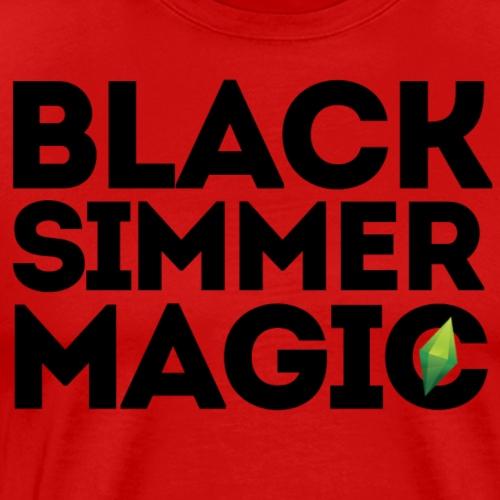 Black Simmer Magic #2 - Men's Premium T-Shirt
