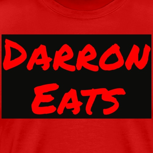 Darron Eats Logo - Men's Premium T-Shirt