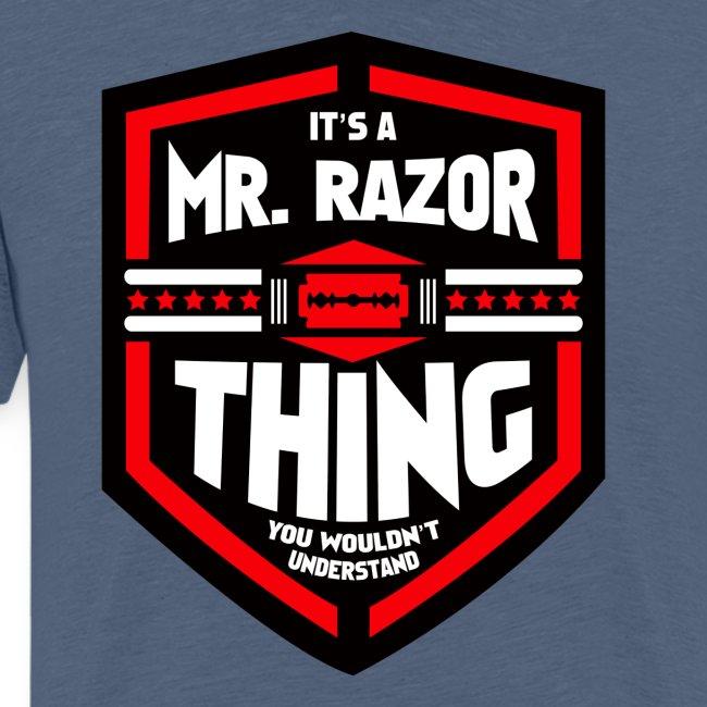 It's a Mr Razor Thing Trini