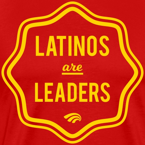 Latinos are Leaders! Official T-Shirt - Men's Premium T-Shirt