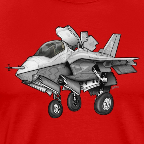 F-35B Lighting II Joint Strike Fighter Cartoon
