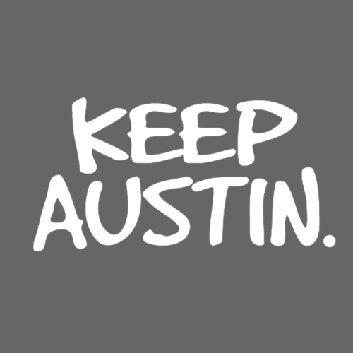 Keep Austin. - Men's Premium T-Shirt