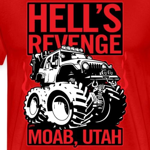 Hell's Revenge Moab Utah Off Road 4x4 Adventure - Men's Premium T-Shirt