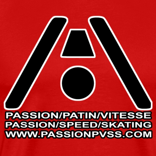 Passion / Skate / Speed - Passion / Speed / Skating - Men's Premium T-Shirt
