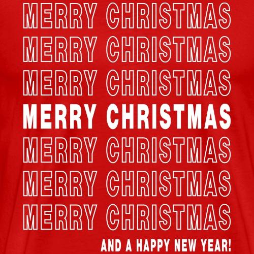 Merry Christmas Thank You - Men's Premium T-Shirt