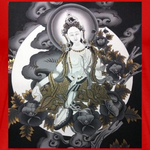 Tibetan Tara Goddess - Men's Premium T-Shirt