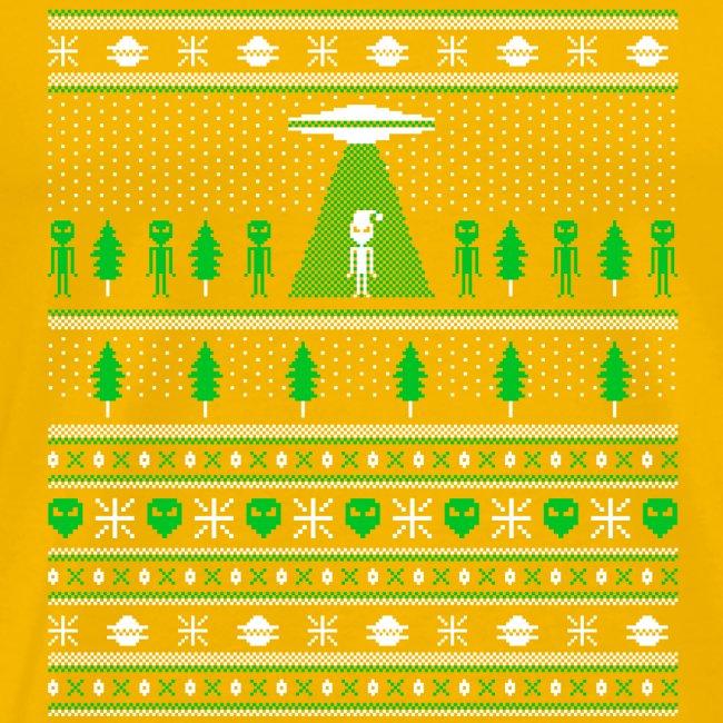UFO ALIEN UGLY Christmas