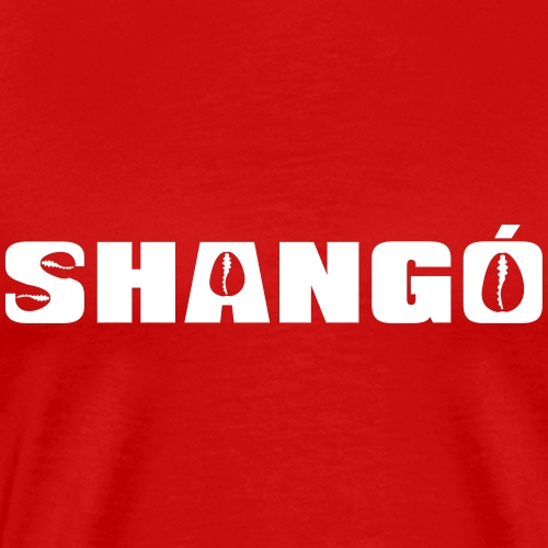 Shango name on red