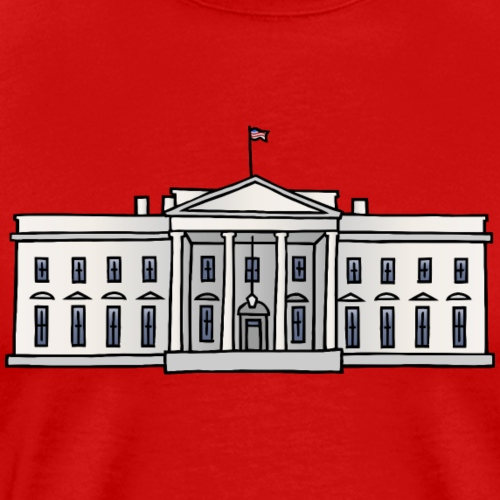 The White House, Washington, D.C - Men's Premium T-Shirt