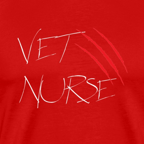 VN cat scratch Black - Men's Premium T-Shirt
