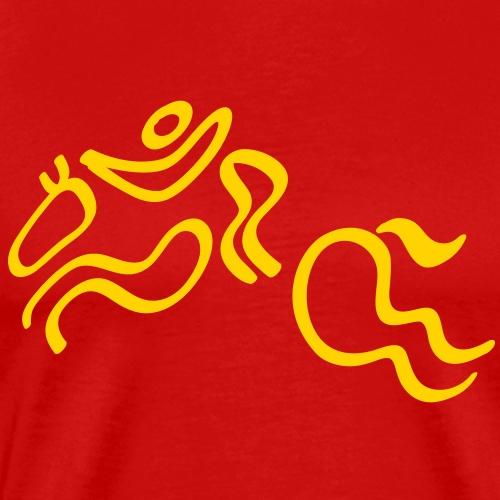 Olympic Equestrian Jumping - Men's Premium T-Shirt