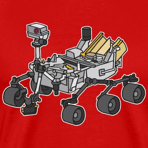 Curiosity, the Marsrover - Men's Premium T-Shirt