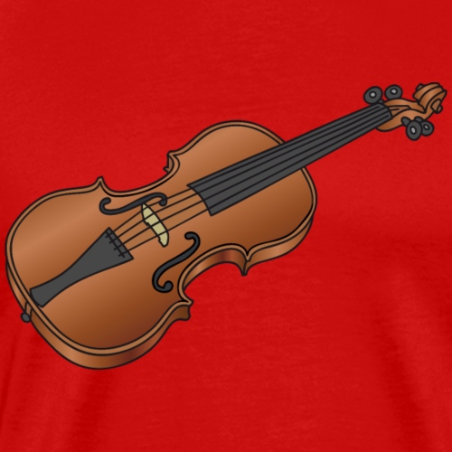 Violin, fiddle - Men's Premium T-Shirt