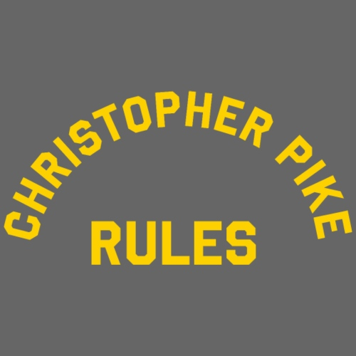 Christopher Pike Rules - Men's Premium T-Shirt
