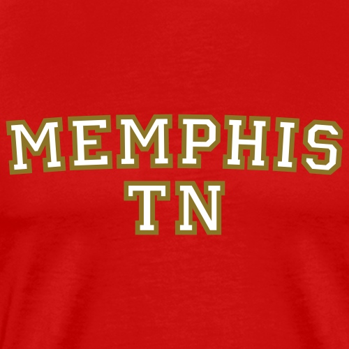 Memphis TN College - Men's Premium T-Shirt
