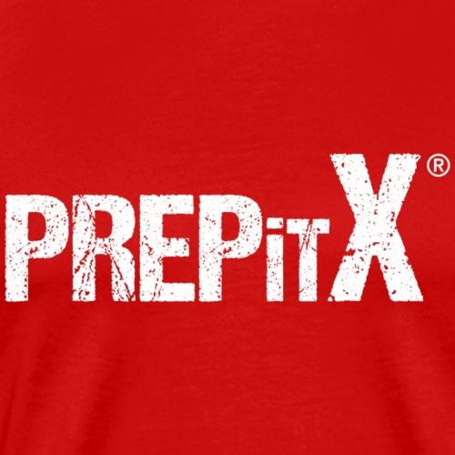 PREPitX logo white - Men's Premium T-Shirt