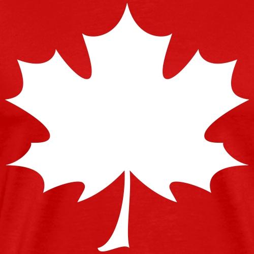 'Norway' Canadian Maple Leaf - Men's Premium T-Shirt