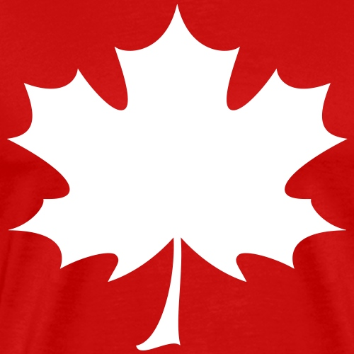 'Norway' Canadian Maple Leaf - Men's Premium T-Shirt