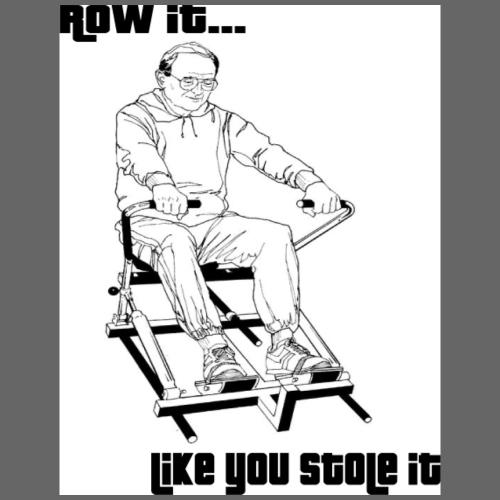 funny rowing new - Men's Premium T-Shirt