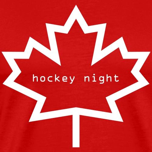 Hockey Night - Canada - Men's Premium T-Shirt