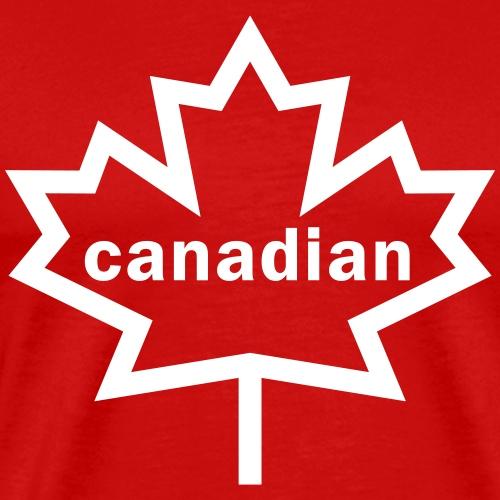 Canadian Maple Leaf - Men's Premium T-Shirt