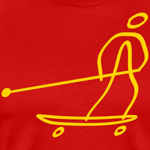 Extreme Land Paddling - Men's Premium T-Shirt
