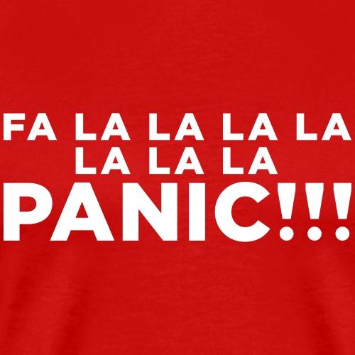 Funny ADHD Panic Attack Quote - Men's Premium T-Shirt
