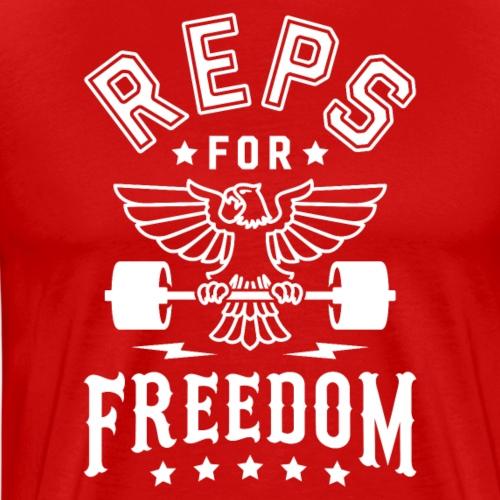 Reps For Freedom v2 - Men's Premium T-Shirt