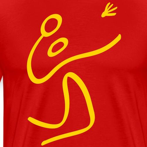 Olympic Badminton - Men's Premium T-Shirt