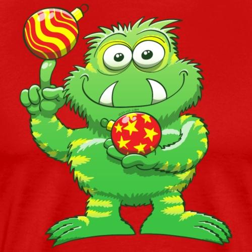 Christmas Monster - Men's Premium T-Shirt
