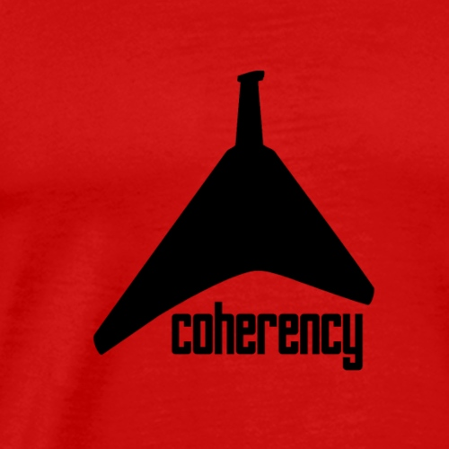 Coherency Guitar - Men's Premium T-Shirt