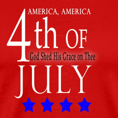 4th of July - T Shirts - Men's Premium T-Shirt
