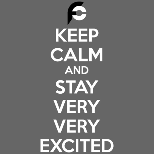 STAY EXCITED Spreadshirt - Men's Premium T-Shirt