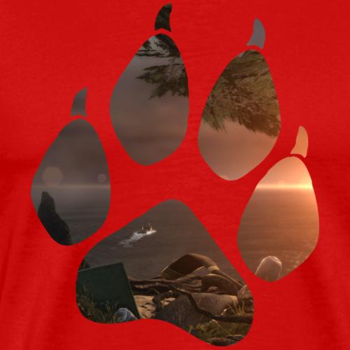 Lara Croft - Escape - Men's Premium T-Shirt