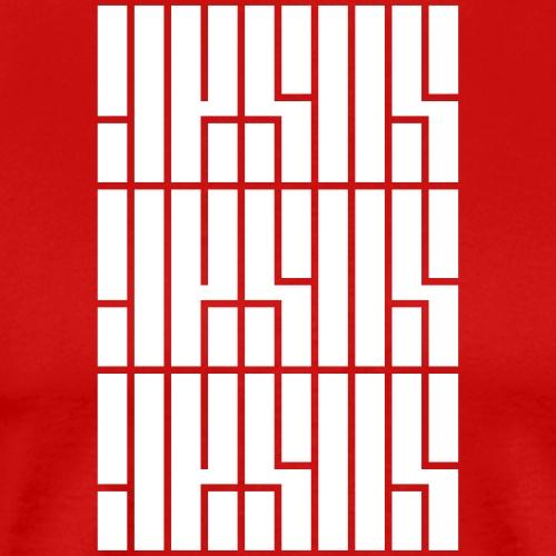 JESUS Repeated - Men's Premium T-Shirt